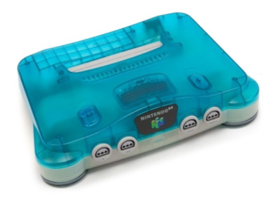 Nintendo 64 [N64] Konsole Aqua Blue