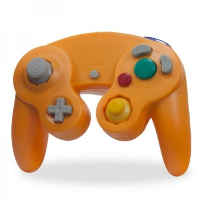 Neuer Gamecube Controller Orange
