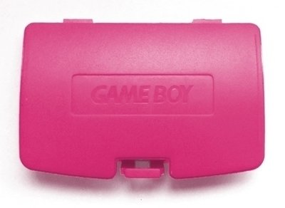 Game Boy Color Batteriedeckel (Red)