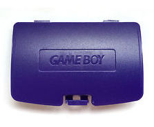 Game Boy Color Batteriedeckel (Purple)