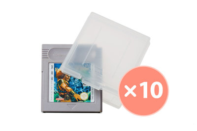 10x Gameboy Game Protector mit Logo