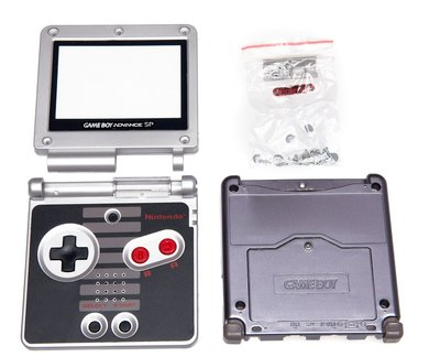 Gameboy Advance SP Shell NES Edition