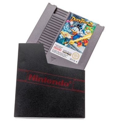 NES Dust Cover mit Logo