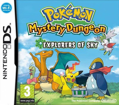Pokémon Mystery Dungeon - Explorers of Sky