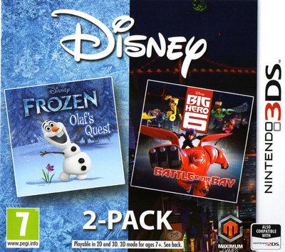 Disney Frozen: Olaf's Quest and Disney Big Hero 6: Battle in the Bay