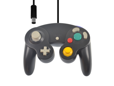 Nieuwe GameCube Controller Black