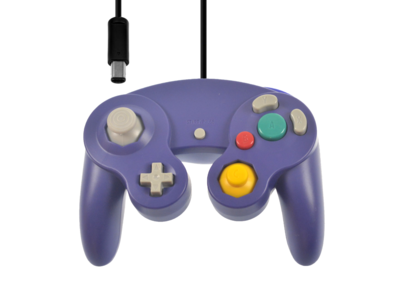Neuer Gamecube Controller Purple