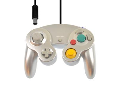 Neuer Gamecube Controller Silver