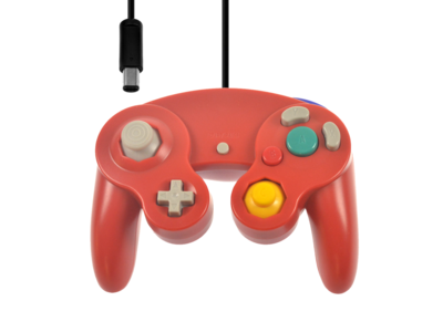 Neuer GameCube Controller Red