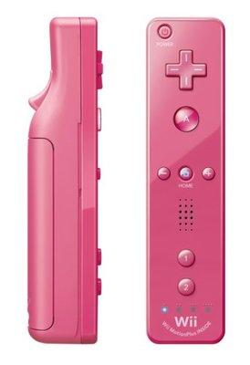 Original Wii Motion Plus Controller Pink