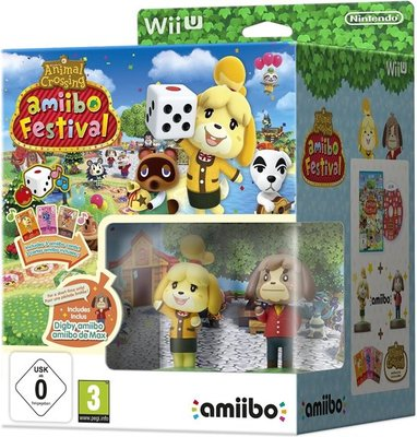 Animal Crossing Amiibo Festival (2 Figures, 3 Cards)