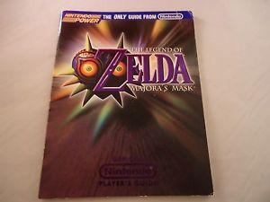 Zelda Majora's Mask Official Player's Guide