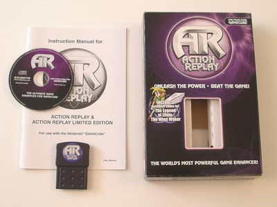 Action Replay Cheat System - Gamecube