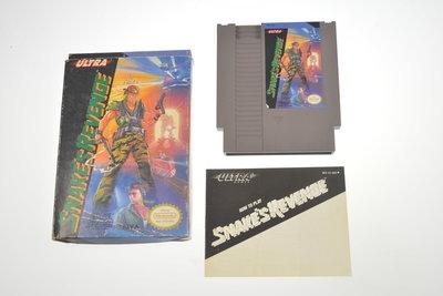 Snake's Revenge [NTSC]