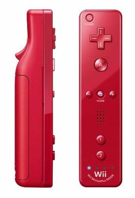 Original Wii Motion Plus Controller Red