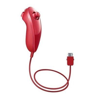 Nintendo Wii Nunchuck Red