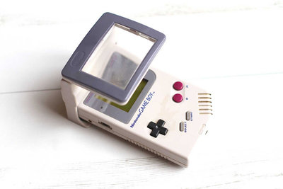 Gameboy Magnifying Glass + Light