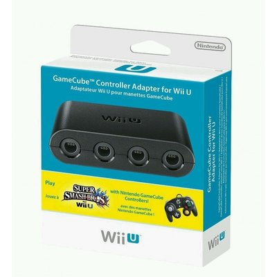 Original Gamecube Controller Adapter for Wii U