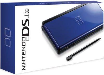 Nintendo DS Lite Metalic Blue Complete