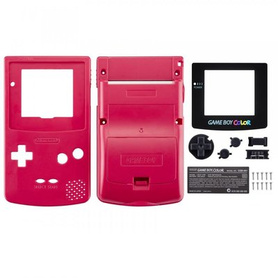 Gameboy Color Shell Red