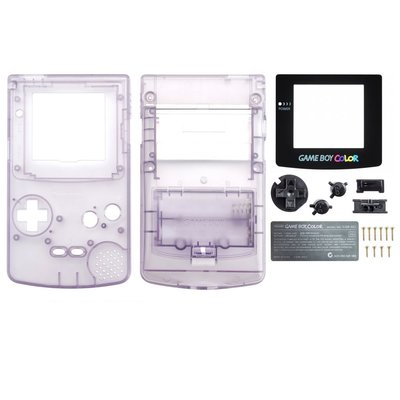 Gameboy Color Shell Transparent Purple
