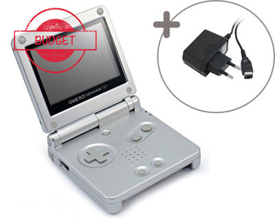 Gameboy Advance SP Silver (Budget)