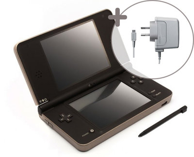 Nintendo DSi XL Gold Brown