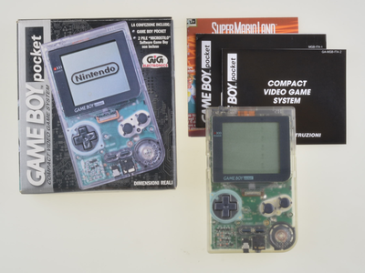 Gameboy Pocket Transparent - Complete