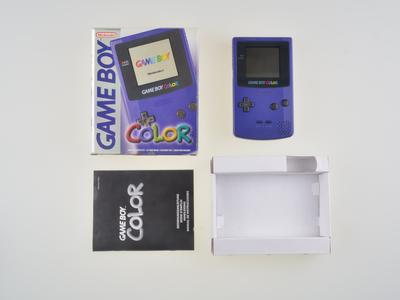 Nintendo Gameboy Color Purple - Complete
