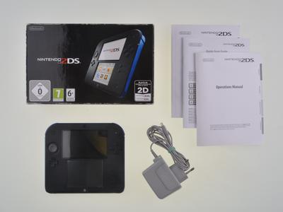 Nintendo 2DS Black-Blue [Complete]