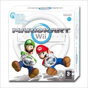 Mario Kart Wii Pack incl. Steering Wheel