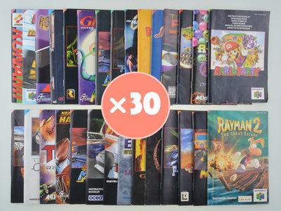 Mystery Manual Mix - Nintendo 64 - 30x