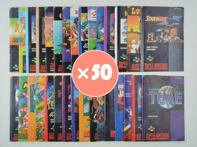 Mystery Manual Mix - Super Nintendo - 50x