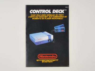 Nintendo NES Console Manual
