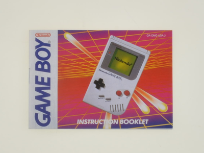 Gameboy Classic Manual