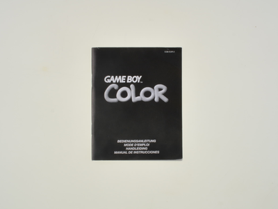 Gameboy Color Manual