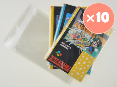 10x Super Nintendo Manual Bag