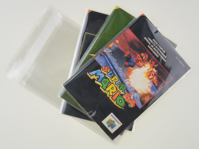 Nintendo 64 Manual Bag