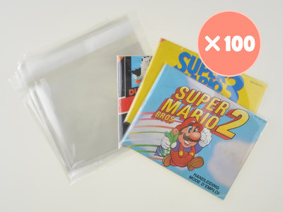 100x Nintendo NES Manual Bag