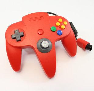 Nintendo 64 [N64] Controller Red (Neu Analogstick)