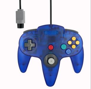 Nieuwe Nintendo 64 [N64] Controller Atomic Blue