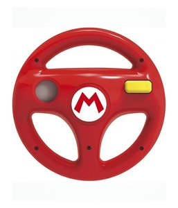 Nintendo Wii Steering Wheel - Red (back)