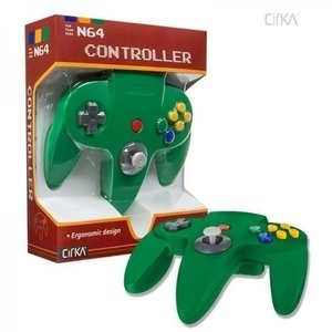 Neuer Nintendo 64 [N64] Controller Green