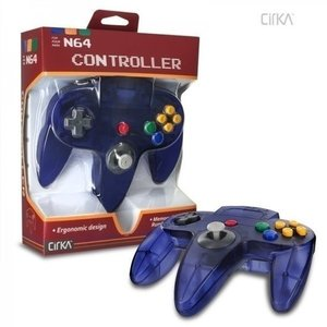 Neue Nintendo 64 [N64] Controller Clear Purple