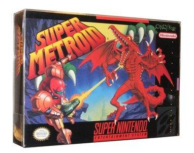 Super Nintendo SNES Snug Fit Box Protector