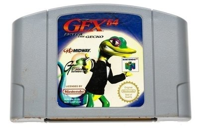 Gex 64 Enter the Gecko