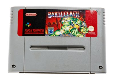 Battleclash SNES Cart