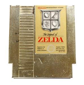 Zelda NES Cart