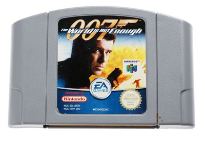 007 The World is not Enough N64 Cart