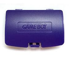 Game Boy Color Batteriedeckel (Purple)